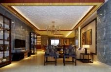 特色中式客厅