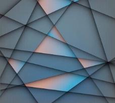 概念的几何图形背景矢量