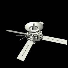 人造卫星模型