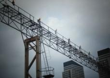 铁路灯桥图片