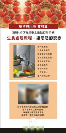 展覽室內用海報輸出食材篇