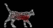 动物 文字图片