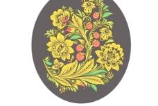 傳統花紋背景矢量圖片5