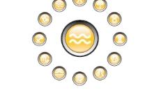 圆形水晶图标