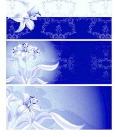 素雅鲜花花纹