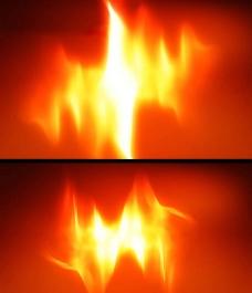 火焰燃烧视频背景素材