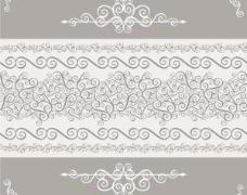 欧式花纹背景矢量素材04