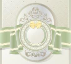 欧式花纹背景矢量素材02盖