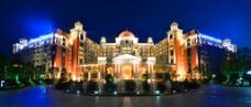 五星级酒店夜景图片