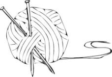 针织纱针夹艺术
