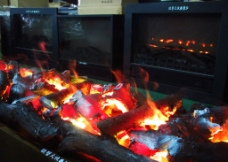 3d壁炉电子篝火图片