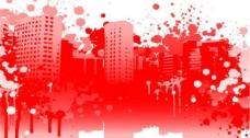 潮流风格城市笔刷图片