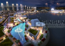 欢乐海岸城市设计图片