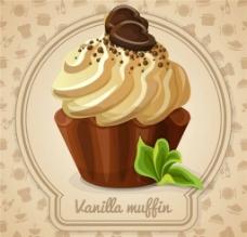 甜點甜品冰激凌蛋糕圖片