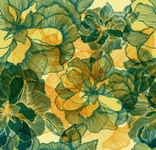 鲜花底纹背景图片
