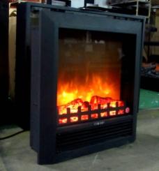 25S6欧壁火电壁炉图片