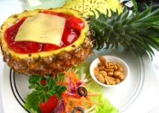 菠萝 美食图片